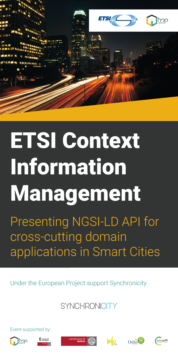 ETSI Context Information Management
