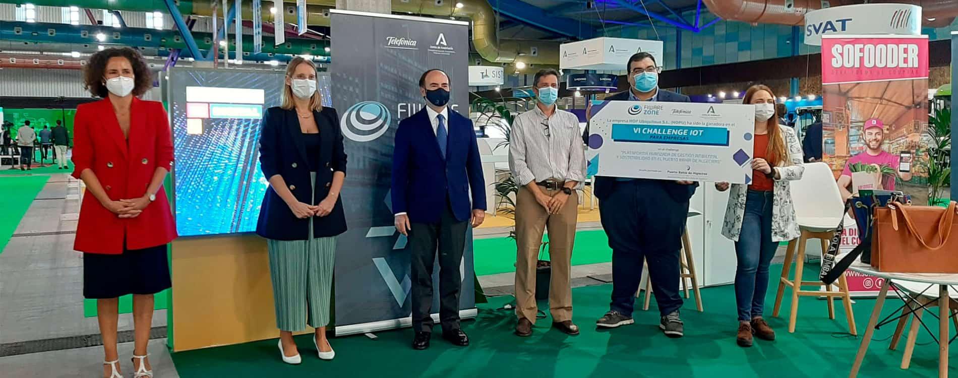 HOPU monitorizará la calidad del aire, ruido y calidad del agua del Puerto de Algeciras