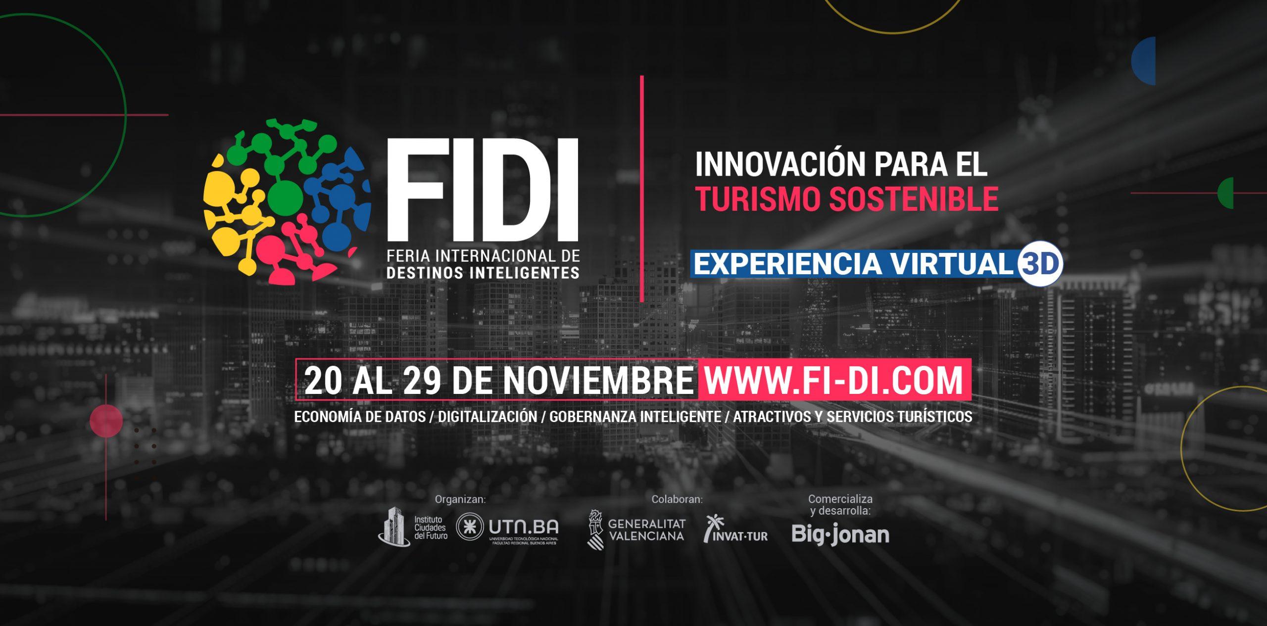 Feria Internacional de Destinos Inteligentes FIDI2020